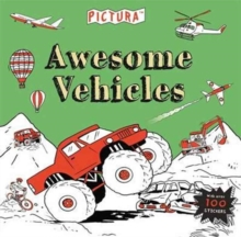 Pictura Puzzles Awesome Vehicles, Paperback / softback Book