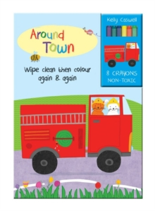 Colour Me Again and Again Book - Around Town, Board book Book