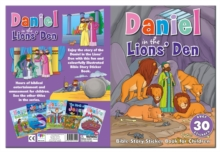 Bible Sticker Book - Daniel in the Lions Den, Novelty book Book