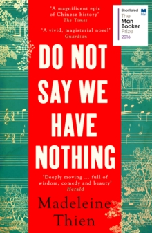 Do Not Say We Have Nothing, Paperback Book