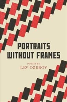 Portraits Without Frames : Selected Poems, Paperback / softback Book