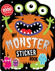My Monster Sticker Activity Book, Paperback Book
