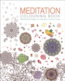 Meditation Colouring Book, Paperback Book