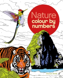 Colour by Number : Nature, Paperback Book