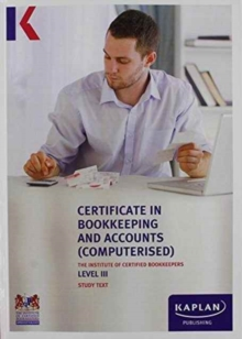 ICB STUDY TEXT LEVEL III CERTIFICATE IN, Paperback Book