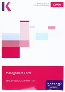 CIMA Managerial Case Study - Study Text, Paperback Book