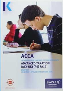 P6 Advanced Taxation - Complete Text, Paperback Book