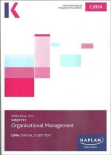 E1 OPERATIONAL MANAGEMENT - STUDY TEXT, Paperback / softback Book