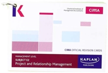 E2 PROJECT AND RELATIONSHIP MANAGEMENT - REVISION CARDS, Paperback / softback Book