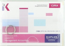 P1 MANAGEMENT ACCOUNTING - REVISION CARDS, Paperback Book