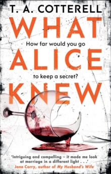 What Alice Knew, Paperback Book