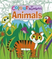 Colour by Numbers - Animals, Paperback Book