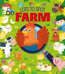 Lots to Spot Farm, Hardback Book