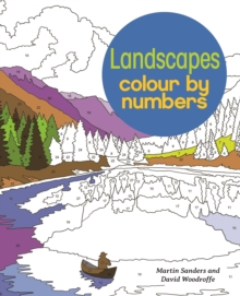 Landscapes Colour by Numbers, Paperback Book