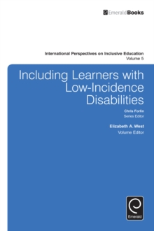 Including Learners with Low-Incidence Disabilities, Hardback Book