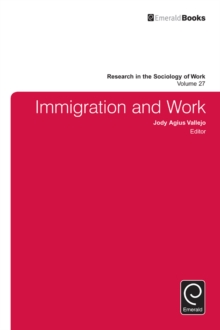 Immigration and Work, Hardback Book