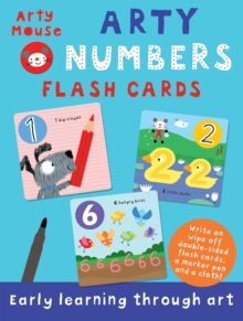 Arty Numbers Flash Cards, Cards Book