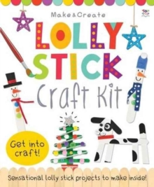 Lolly Stick Craft Kit, Kit Book