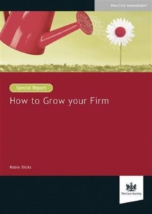 How to Grow Your Firm, Paperback Book