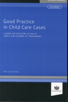 Good Practice in Child Cases, Paperback / softback Book