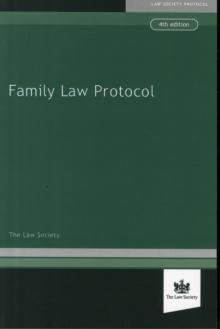 Family Law Protocol, Paperback / softback Book