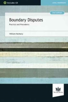 Boundary Disputes : Practice and Precedents, Mixed media product Book