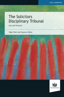 The Solicitors Disciplinary Tribunal, EPUB eBook