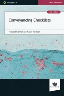 Conveyancing Checklists, Mixed media product Book