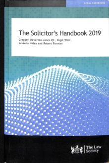 The Solicitor's Handbook 2019, Paperback / softback Book