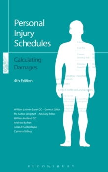 Personal Injury Schedules: Calculating Damages, Paperback / softback Book