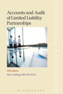 Accounts and Audit of Limited Liability Partnerships, Paperback / softback Book