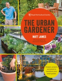 RHS the Urban Gardener, Paperback Book