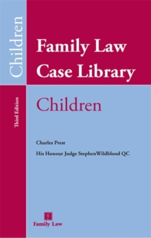 Family Law Case Library (Children), Mixed media product Book
