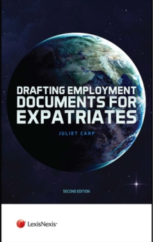 Drafting Employment Documents for Expatriates, Hardback Book