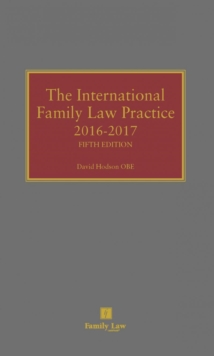 International Family Law Practice, Hardback Book