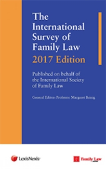 The International Survey of Family Law 2017 Edition, Hardback Book