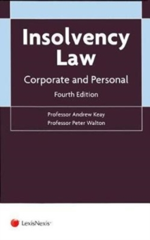 Insolvency Law : Corporate and Personal, Paperback Book