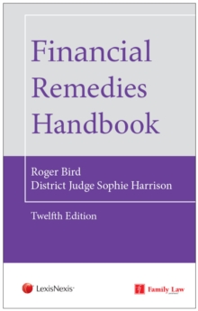 Financial Remedies Handbook 12th Edition, Paperback / softback Book