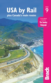 USA by Rail : plus Canada's main routes, Paperback / softback Book