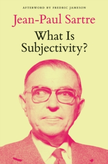 What is Subjectivity?, Paperback / softback Book