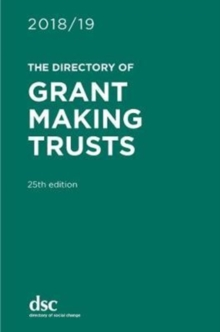 The Directory of Grant Making Trusts 2018/19, Hardback Book