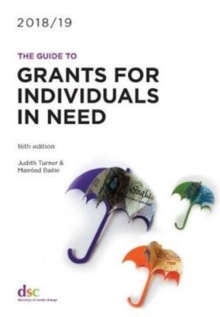 The Guide to Grants for Individuals in Need 2018/19, Paperback Book