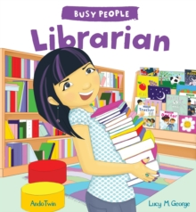 Busy People: Librarian, Hardback Book