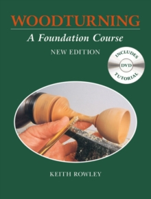 Woodturning: A Foundation Course (with DVD), Wallet or folder Book
