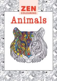 Zen Colouring - Animals, Paperback / softback Book
