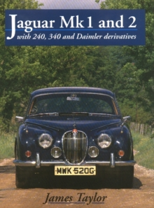 Jaguar Mks 1 and 2, S-Type and 420, Hardback Book