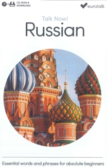 Talk Now! Learn Russian, CD-ROM Book