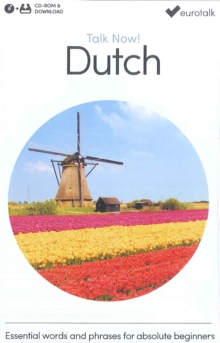 Talk Now! Learn Dutch, CD-ROM Book