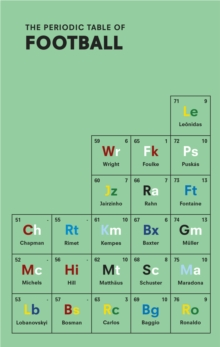 The Periodic Table of Football, Hardback Book