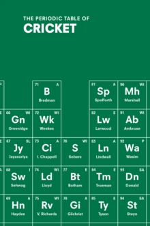 The Periodic Table of Cricket, Hardback Book